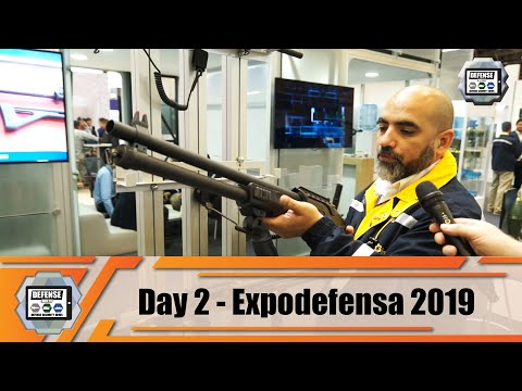 ExpoDefensa 2019 Day 2 International Defense and Security Exhibition in Bogota Colombia Show News