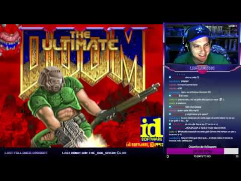 Brutal Doom - Ultimate DOOM (Shores of Hell) | DIRECTO | Objetivo: 35 followers
