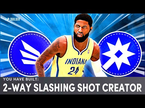 "BEST 2 WAY SLASHING SHOT CREATOR 6'8"" POWER FORWARD  BUILD ON NBA 2K21 NEXT GEN!"