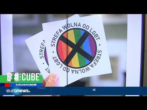 #TheCube Polish MP Przemyslaw Czarnek denies LGBT free zones
