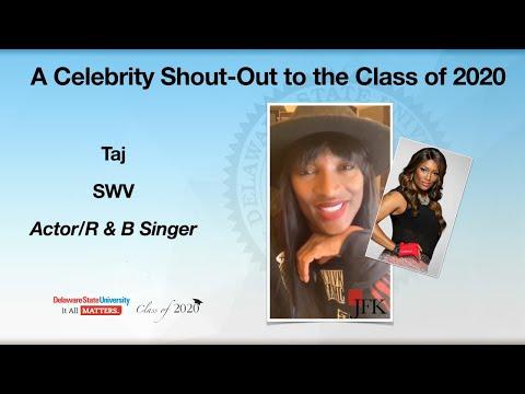 Taj - Celebrity Shout Out