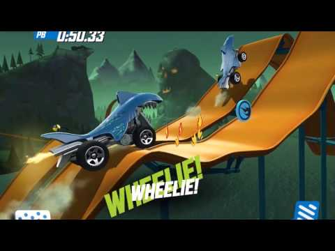 HOT WHEELS RACE OFF Best Cars Dragon Blaster / Baja Bone Shaker / Rodger Dodger / Shark Bite