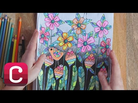 30 Coloring Pages with Lisa Congdon, Pam Garrison, and Courtney Cerruti | Creatiivebug