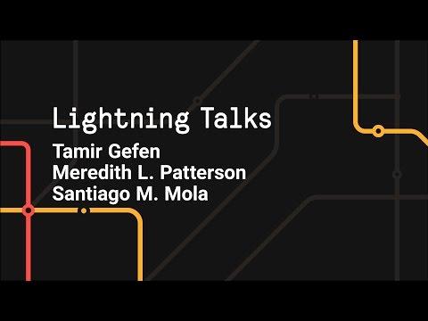 Lightning Talks - Git Merge 2017