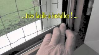 Filet Antifugue Pour Chat à Monter Sur Vos Fenêtres Velcro Youtube