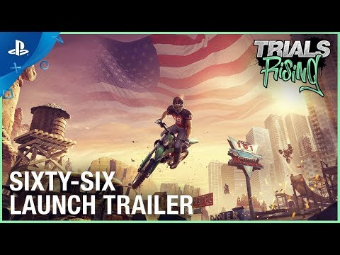 Trials Rising - Sixty Six DLC  Launch Trailer | PS4