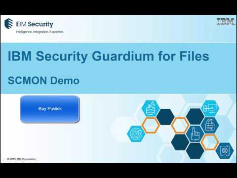 Tech Talk - IBM Security Guardium for Files V10 (3 of 3)