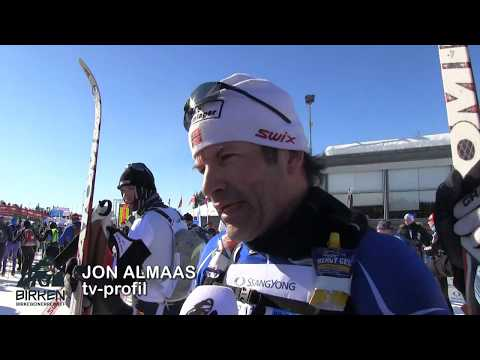 Birken skifestival 2018: Jon Almaas i mål