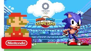Mario & Sonic at the Olympic Games Tokyo 2020 - Classic 2D Events Reveal Trailer - Nintendo Switch