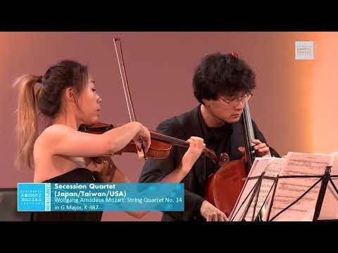 Secession Quartet - Wolfgang Amadeus Mozart: String Quartet No. 14 in G Major, K 387