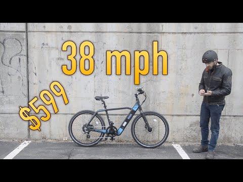New: $599 Shtuyot electric bike goes 38 mph!