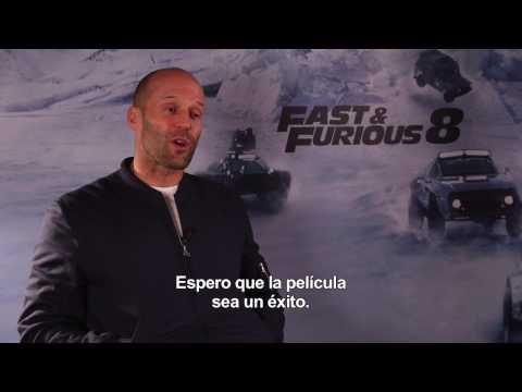 FAST & FURIOUS 8 ? Entrevista a Jason Statham HD