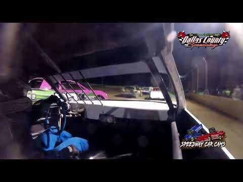 #24 Jon Lipe - Pure Stock - 7-9-2021 Dallas County Speedway - In Car Camera - dirt track racing video image