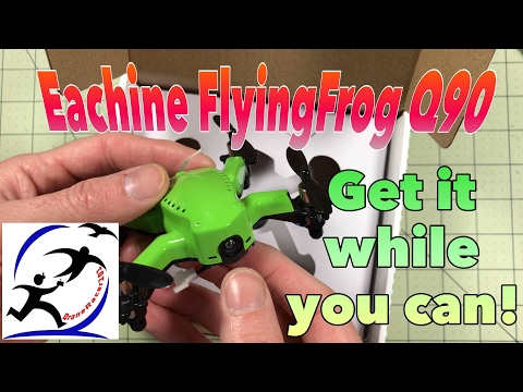 Eachine FlyingFrog Q90 Review, will the new Q90C be as good? - UCzuKp01-3GrlkohHo664aoA