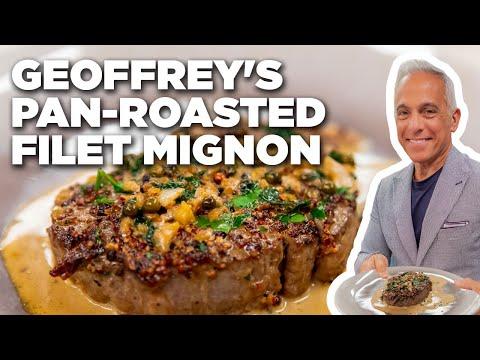 Geoffrey Zakarian's Pan-Roasted Filet Mignon   The Kitchen   Food Network