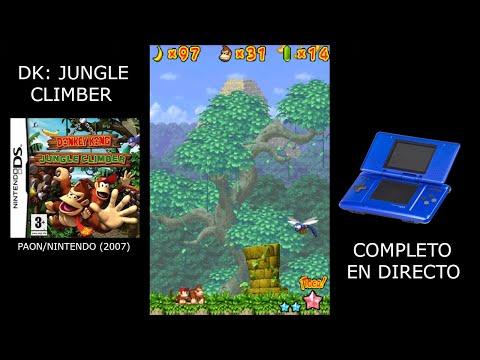 Jugando a Donkey Kong: Jungle Climber (NDS) y charlando