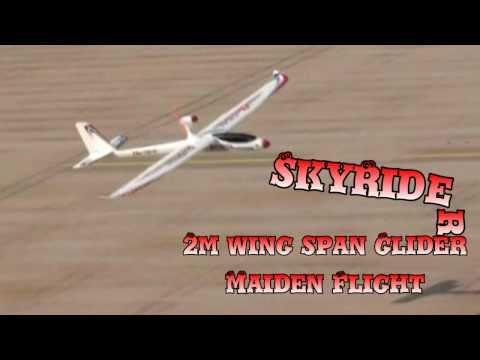 SkyRider Glider Maiden Flight - UCsFctXdFnbeoKpLefdEloEQ