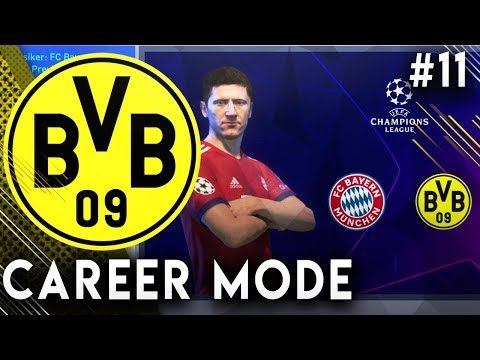 FIFA 19 Borussia Dortmund Career Mode EP11 - OMG Bicycle Kick Goal!! Champions League VS Bayern!!