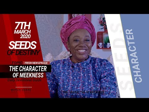 Dr Becky Paul-Enenche - SEEDS OF DESTINY - SATURDAY, 07 MARCH, 2020