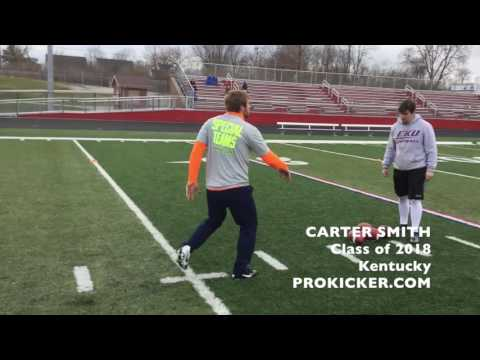 Carter Smith, Punter, Class of 2018, Kentucky