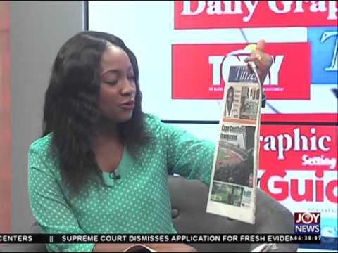 Newspaper headlines on JoyNews (4-5-16)