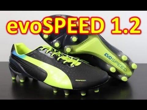 Puma evoSPEED 1.2 Synthetic Black/Fluo Yellow - Unboxing + On Feet - UCUU3lMXc6iDrQw4eZen8COQ