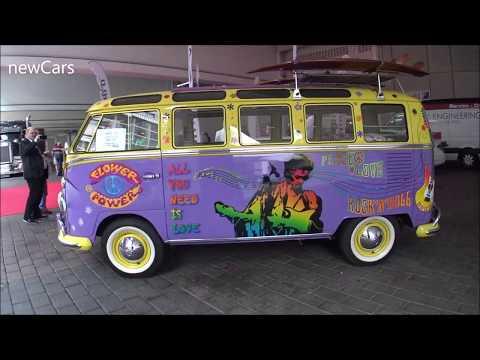 Hippie classic VW amazingly customized