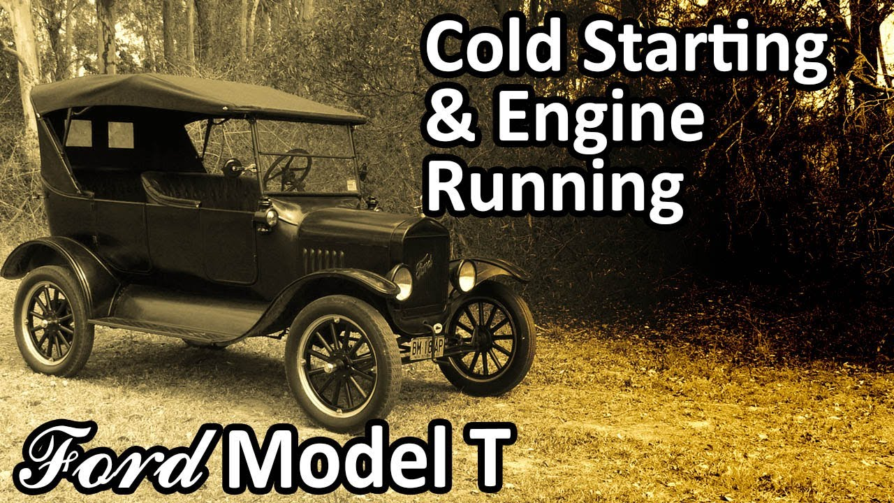 My 1925 Ford Model T - Cold Starting & Engine Running