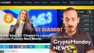 BITCOIN Futures su BAKKT da Settembre! - CryptoMonday News
