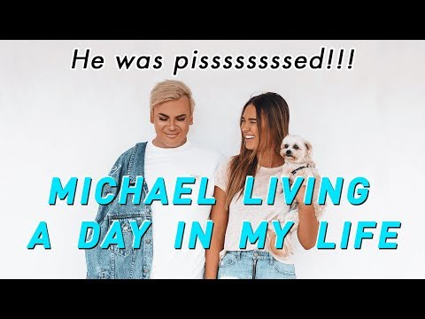 Michael Living A Day In My Life (HILARIOUS!!)