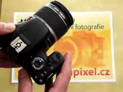 Videorecenze Canon EOS 550D tělo