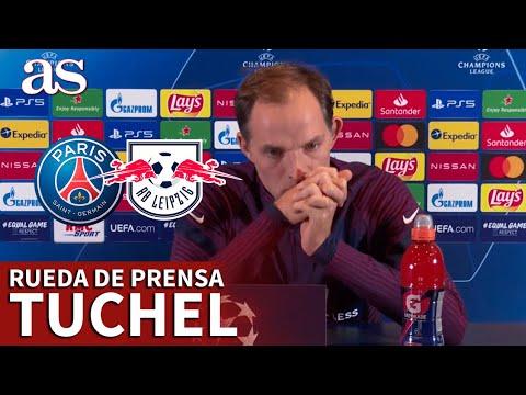 CHAMPIONS LEAGUE | PSG – LEIPZIG | Rueda de prensa previa de TUCHEL | Diario AS
