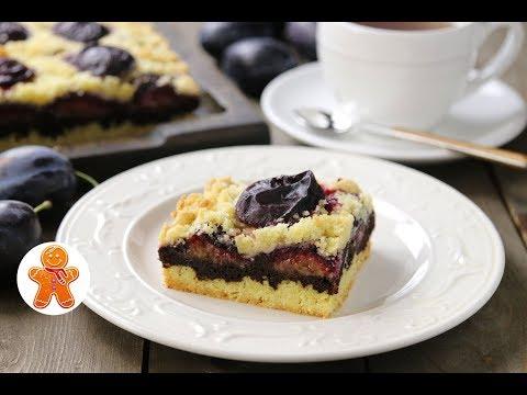 Сливовый Пирог с Шоколадом ✧ Plum Cake with Chocolate