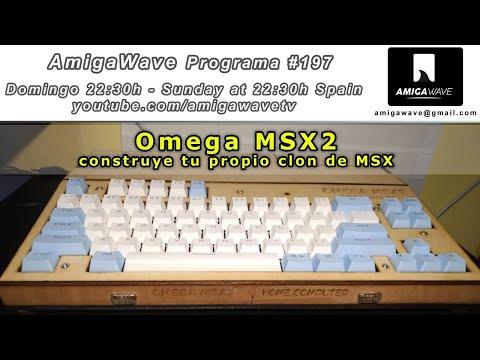 AmigaWave #197. Omega MSX2, crea tu propio clon de MSX2.