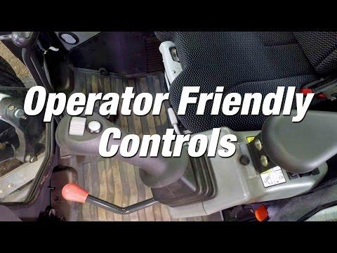 R-Series Excavators: Operator-Friendly Controls
