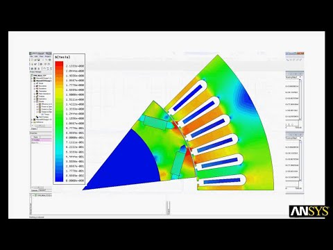 Motor Solution Introduction with ANSYS