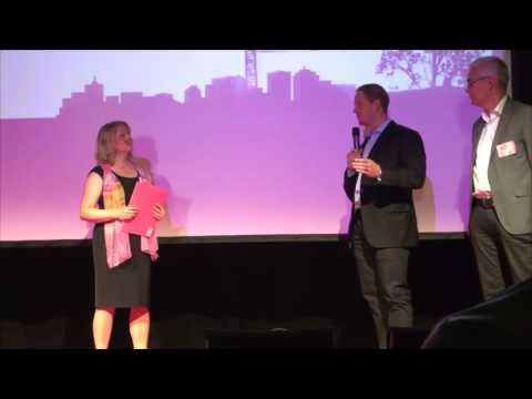 Presentation av projekt Tingstorget under Botkyrka kommuns stadsbyggnadsdag