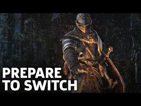 Dark Souls Remastered Nintendo Switch Gameplay: Prepare To Die