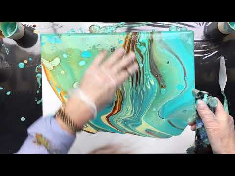 ( 670 ) acrylic pouring my favorite colours