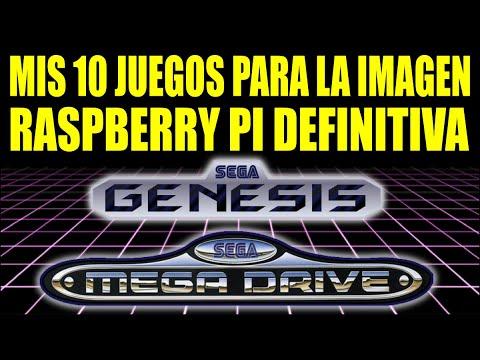 10 JUEGOS MEGADRIVE/GENESIS || IMAGEN RASPBERRY PI CON ROMS