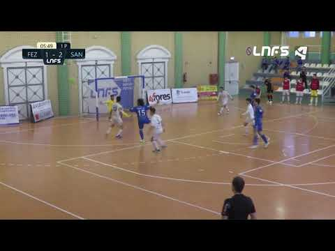 Full Energía Zaragoza - JERUBEX Santiago Futsal Jornada 7 Grupo D Segunda División Temp 20 21