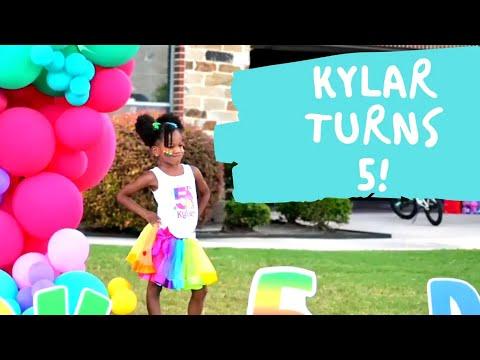 Kylar's 5th Birthday  Jonathan Evans Vlog