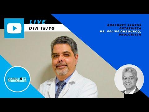 Rhaldney Santos entrevista Dr. Felipe Dubourcq,  urologista
