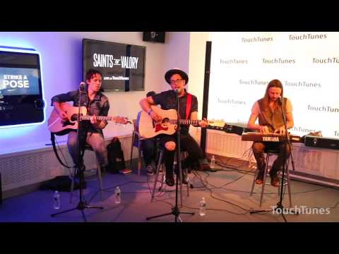 "Saints of Valory -- ""Neon Eyes (Into The Deep)"" Live at TouchTunes"