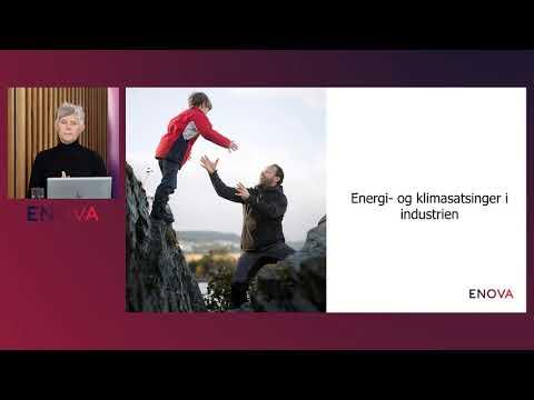 Webinar - Energi og klimasatsinger i industrien - Presentasjon av program m/Marit Sandbakk