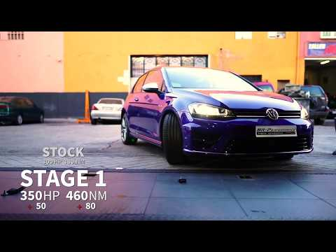 Volkswagen Golf VII R Remap Stage 1 By BR-Performance