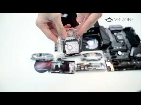 VRZone Unboxing: Asus Strix Z270F Gaming Motherboard