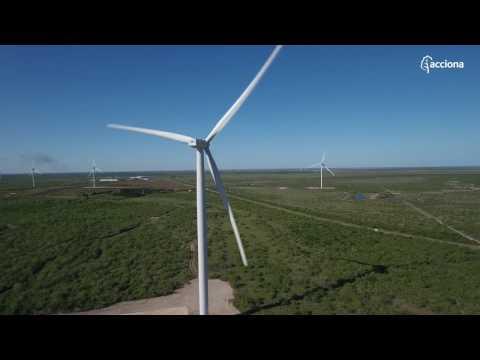 Parque eólico de San Román: una nueva instalación eólica de ACCIONA en EEUU