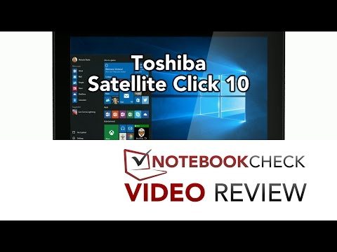 Toshiba Satellite Click 10 Review and Tests