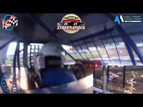 #5 Royce Jawaski WISSOTA Street Stock On-Board @ Fiesta City (7/23/21) - dirt track racing video image